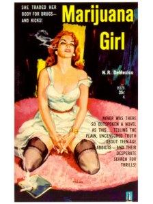 Marijuana Girl Poster