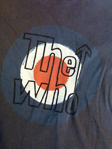 the who logo shirt
